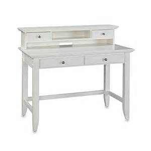 White Student Desk With Hutch Buy Home Styles Bedford Student Desk With Hutch In White From Bed Bath Beyond