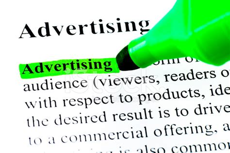 pattern advertising definition definition of advertising highlighted stock photos