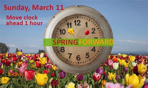 Day Lights Saving Time Daylight Savings Spring 2018 High