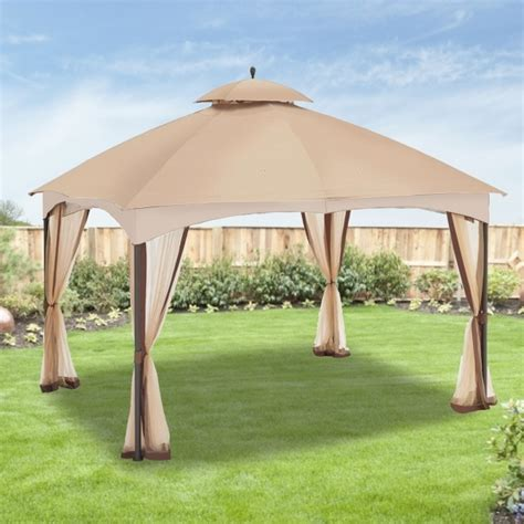 hton bay gazebo swing hton bay gazebo pergola gazebo ideas
