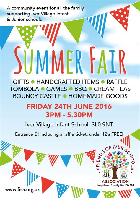 a for all time fair 2016 fisa summer fair 24th june 2016 for all the family