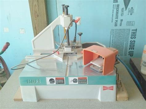 hoffman woodworking used hoffman mu2 dovetail routing machine pre owned