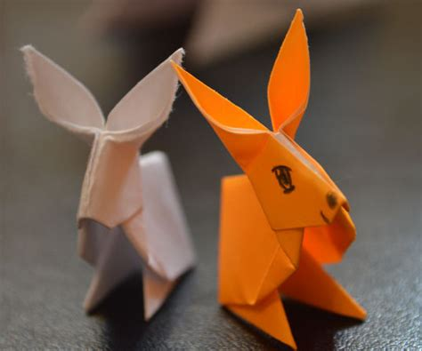 How To Make Paper Rabbit - how to make a paper rabbit