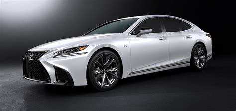 sporty lexus sedan lexus ls 500h f sport 2018 the sedan hybrid also has a