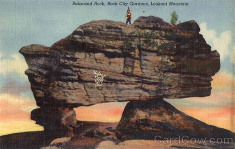 rock city gardens tennessee balanced rock lookout mountain rock city gardens tn