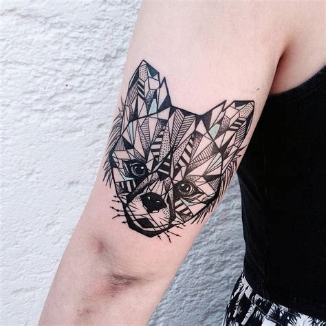 geometric animal tattoos the gallery for gt geometric animal