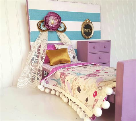 Paris American Girl Doll Bedroom Set 18 American By Head2heart Doll Bedroom Furniture