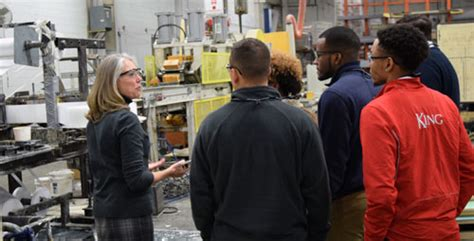 Mba King College by Mba Students Witness Manufacturing Impact Strongwell