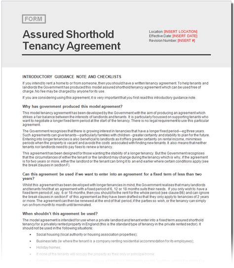 assured shorthold tenancy agreement template free free assured shorthold tenancy agreement document netrent