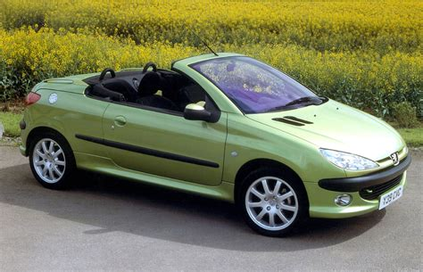 peugeot coupe peugeot 206 coup 233 cabriolet review 2001 2007 parkers