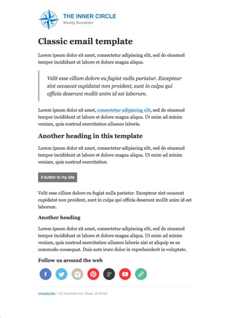 Create A Custom Email Template Convertkit Knowledge Base Convertkit Email Templates