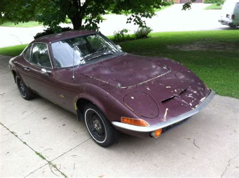 1970 opel 4 door 1970 opel gt coupe 2 door 1 9l 4 speed solid runs