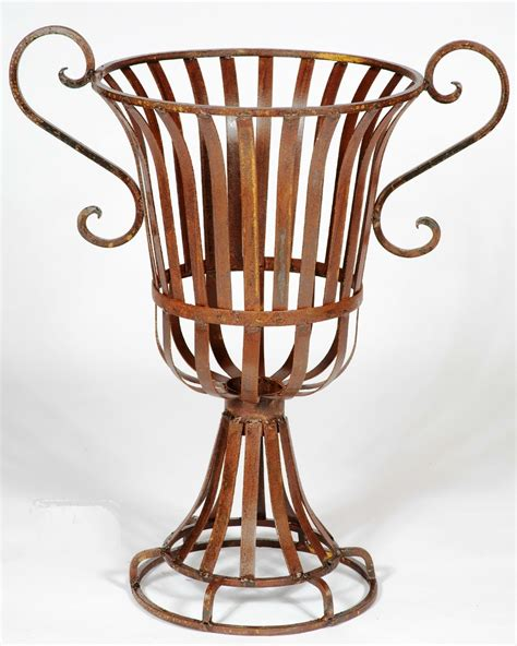 wrought iron planters wrought iron urns planters
