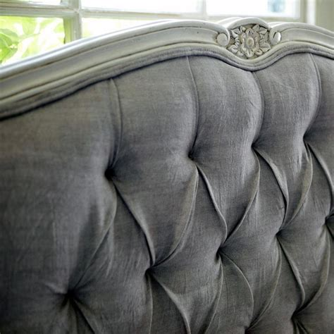 gray wood headboard grey tufted headboard with detailed carved trim lovely