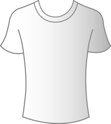 Mens White T Shirt Template Free Clip Art Clipart Best Clipart Best Shirt Template Png