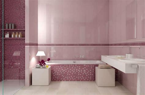 Piastrelle Bagno Rosa - l arredo di un bagno rosa romanticismo ma non