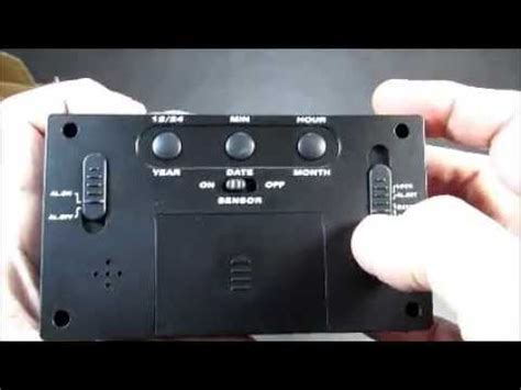 hippih digital alarm clock electric alarm clock  snooze light function batteries powered