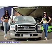 Duas Ford F250 Com Rodas Gigantes Cromadas E Gatas