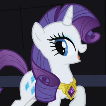 My Pony Purple Yellow Rainbow Power Lp 0003 rarity princess of equestria show discussion mlp forums