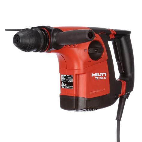 hilti te 30 c 120 volt sds plus hammer drill kit 3476293