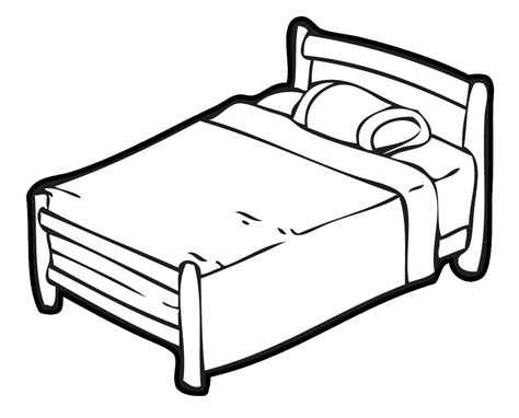 free bed a bed clipart clipartsgram