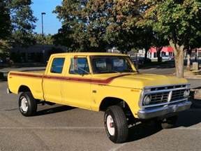 1975 ford f250 4x4 crew cab highboy excellent condition