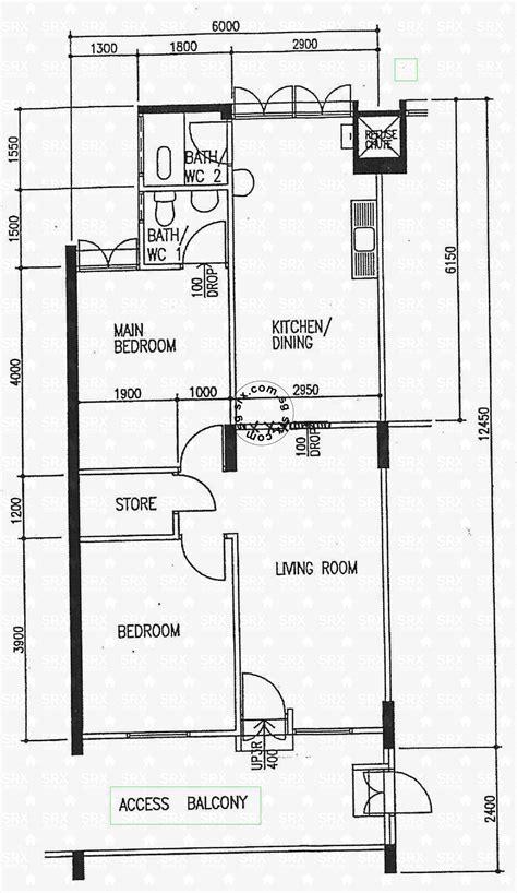 1 Avenue Floor 5 - clementi avenue 5 hdb details srx property