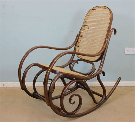 vintage bentwood rocking chair 10791 la77922