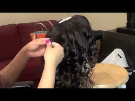 hairstyles done on a mannequin with green hair curling my hair on my mannequin head youtube