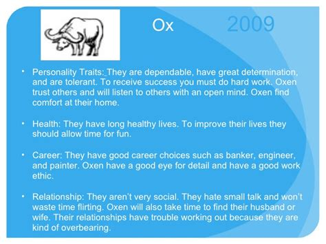 new year traits new year the ox characteristics 28 images zodiac