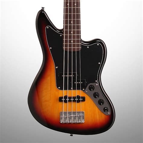 squier jaguar bass v squier vintage modified jaguar v electric bass 5 string