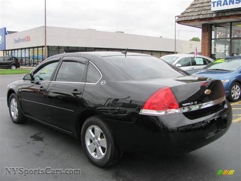 2008 impala black 2008 chevrolet impala lt in black photo 13 272179