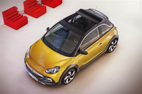 opel adam interior roof opel adam rocks mini crossover for summer launch