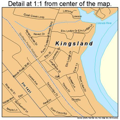 kingsland texas map kingsland texas map 4839304