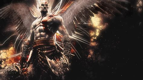 HD Background Kratos God Of War Ascension Game Character