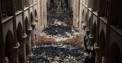 notre dame cathedral fire  remains  mystery