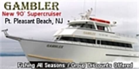 party boat gambler point pleasant beach nj charter and fishing boats