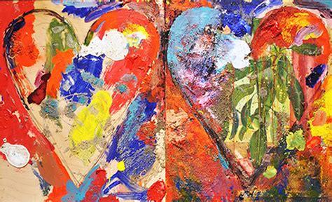 cuadros de oleo abstractos cuadros modernos pinturas y dibujos el coraz 243 n del arte