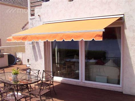 residential retractable awnings residential canvas gallery get your free estimate today