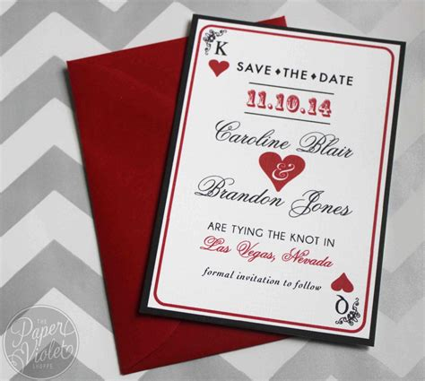 las vegas themed wedding invitations las vegas save the date casino theme save the date with free