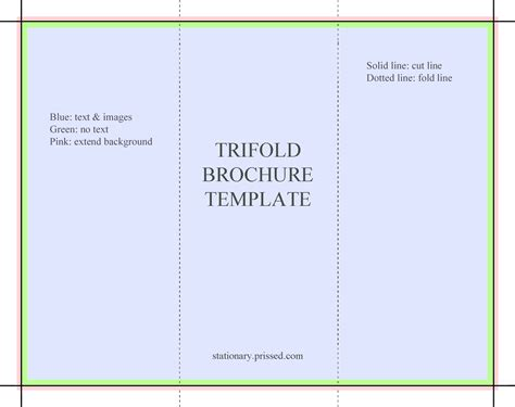 Docs Brochure Outline by Docs Tri Fold Brochure Template 3 Best Agenda Templates