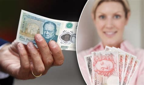 pound number new five pound notes could make you 163 5 000 if they 007 in the serial number
