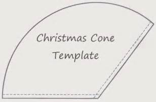 Template Cone by Sewforsoul Gift Cone Tutorial