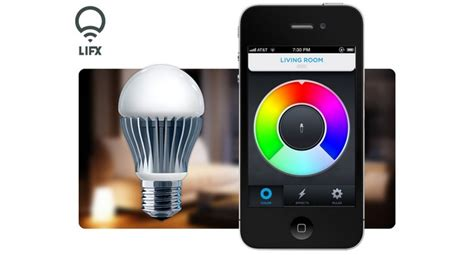 control lights with smartphone lifx led l control from your smartphone