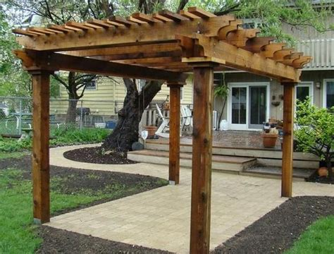 pergola kits cedar pergola and western red cedar on pinterest
