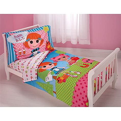 Lalaloopsy Quot One Of A Kind Quot 4 Piece Toddler Set Bed Bath Lalaloopsy Bedding