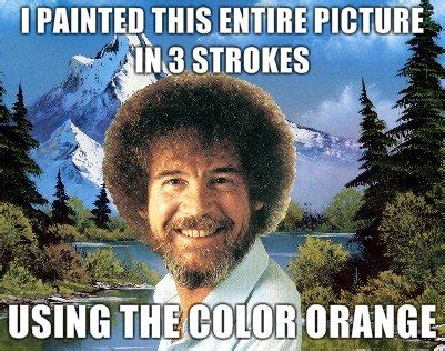 bob ross painting a happy tree happy clouds canilearntopaint