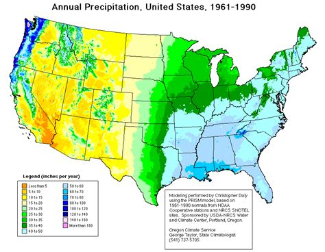 map us rainfall water quantity
