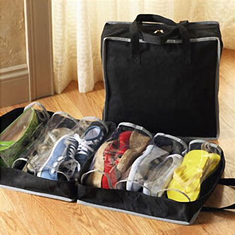 Travel Pouch Eleven Tuatara portable shoes travel storage bag organizer tote luggage carry pouch holder 11street malaysia