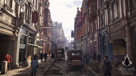 building victorian street  epic proportions  ue